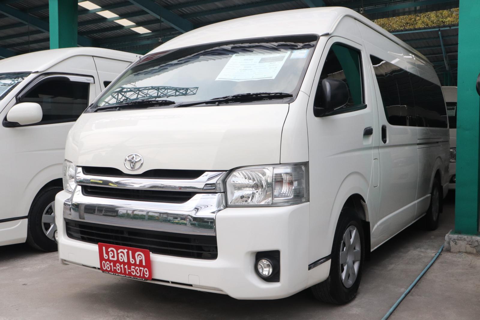 ขายรถ Toyota COMMUTER 3.0 ปี2016 รถตู้/VAN